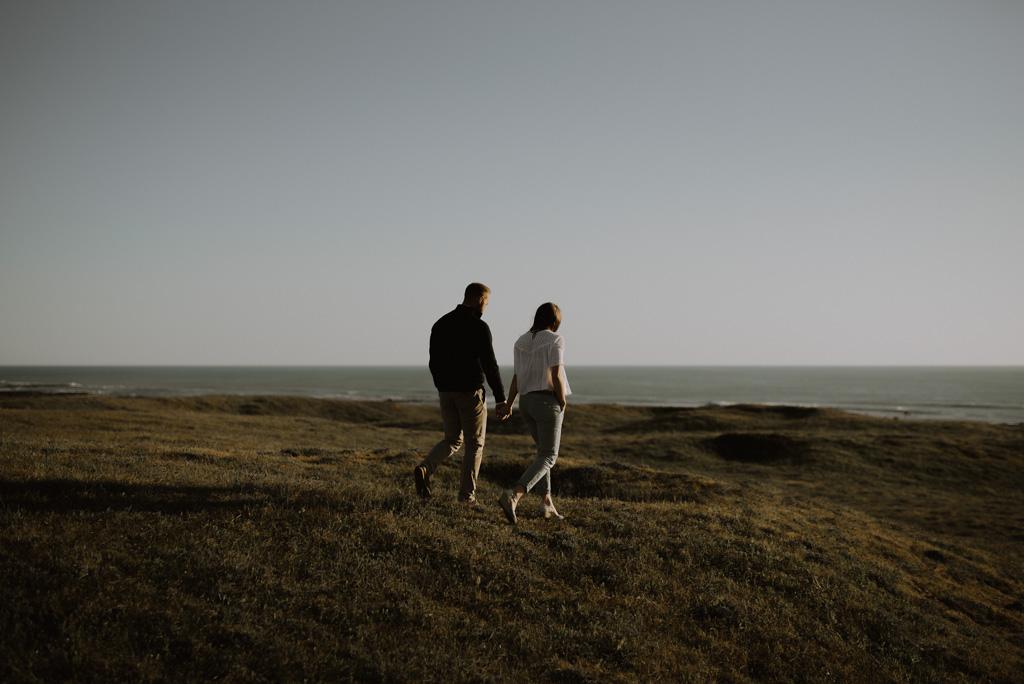 séance engagement Sables d'Olonne Vendée balade plage paracou dune