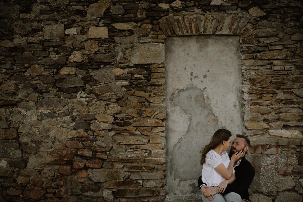 porte mur pierre maison plage paracou regard