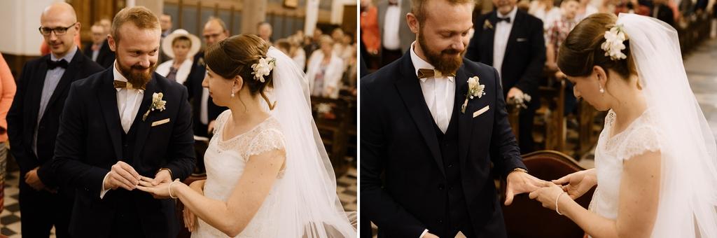 mariage échange alliance mariés