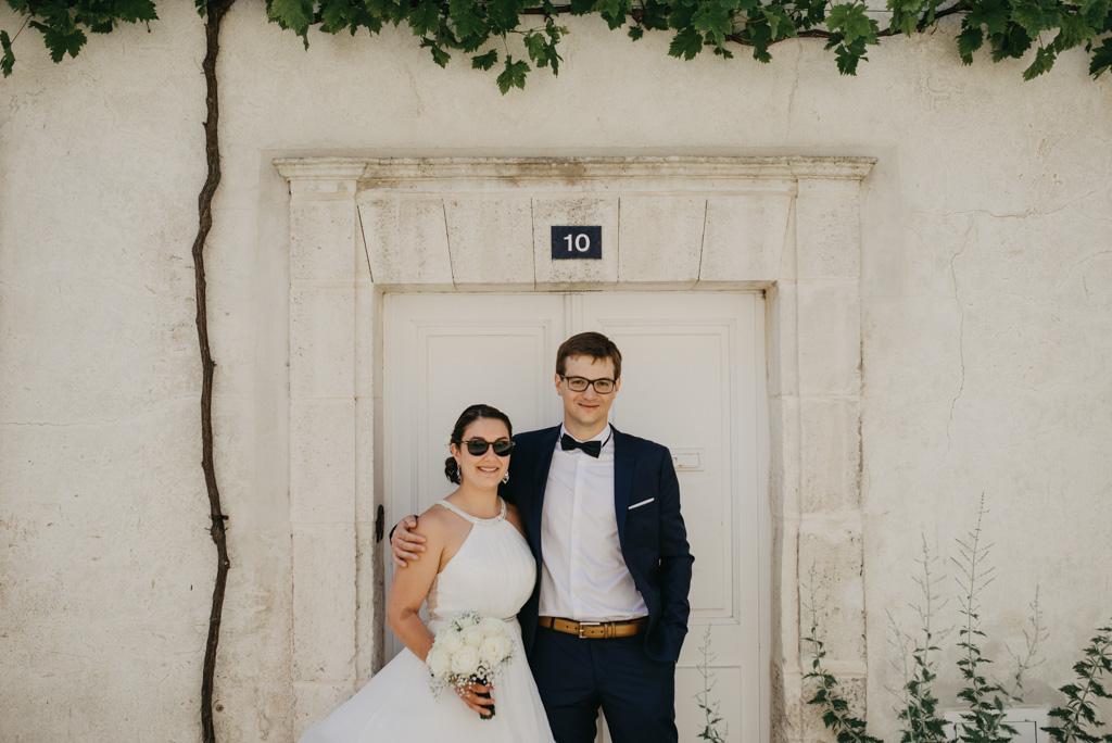 porte ruelle Noirmoutier photos couple mariage