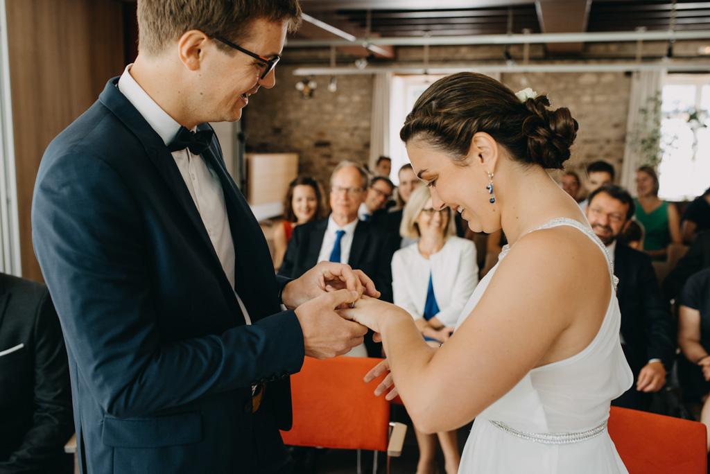 alliance mariage mariés Noirmoutier