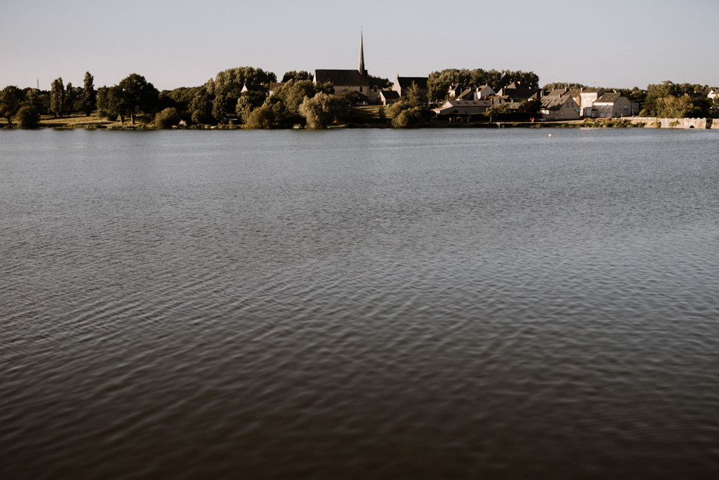 Pouancé lac église séance engagement Maine-et-Loire