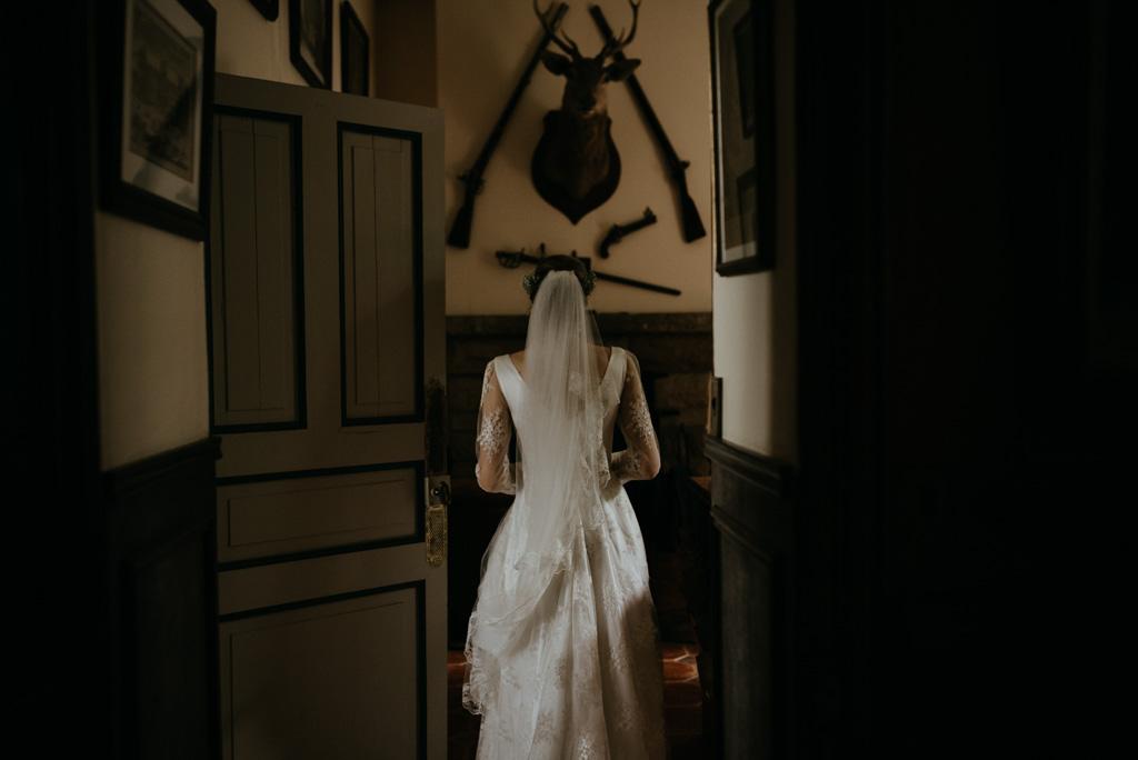 couloir château mariée