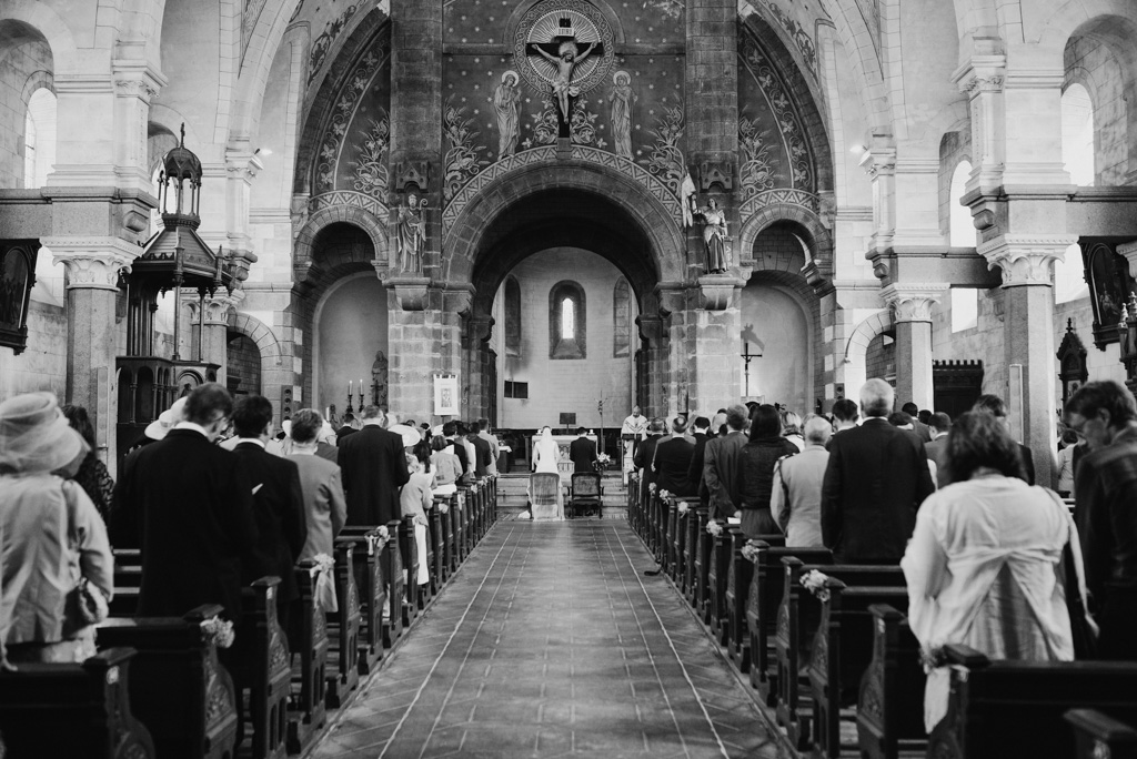 église allée invités mariage