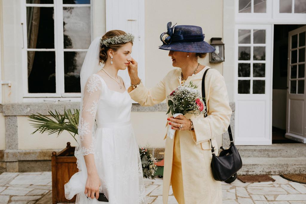 mariée maman préparatifs mariage
