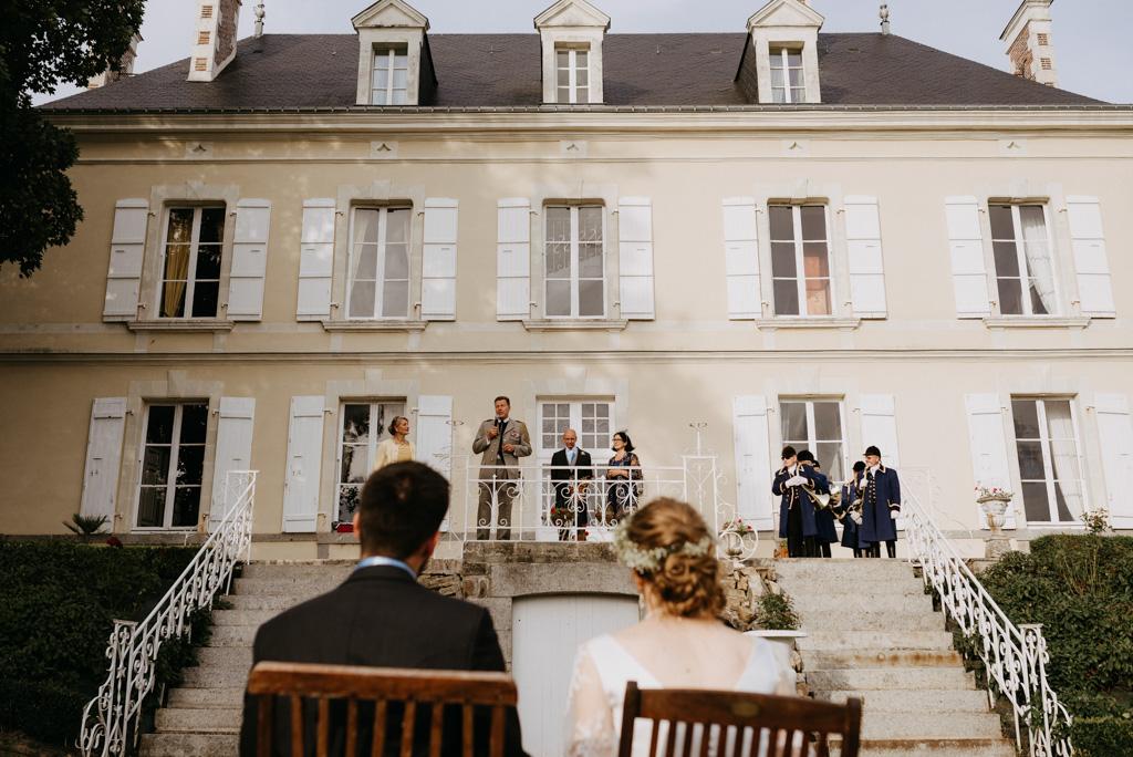 discours parents mariés château