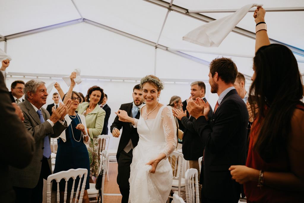 entrée mariés réception danse