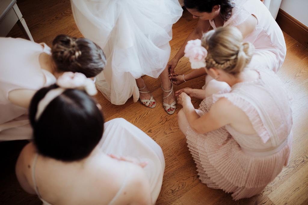 chaussures témoins mariée