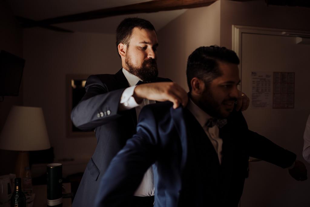 costume témoin marié