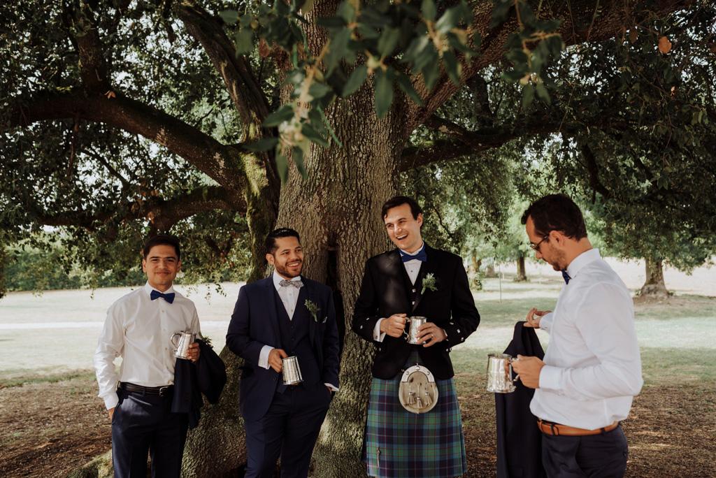 whisky arbre témoins marié parc château