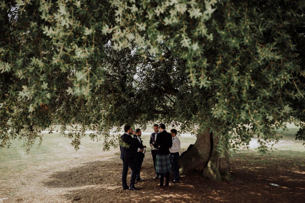 mariage Vendée grand arbre parc château sébrandière