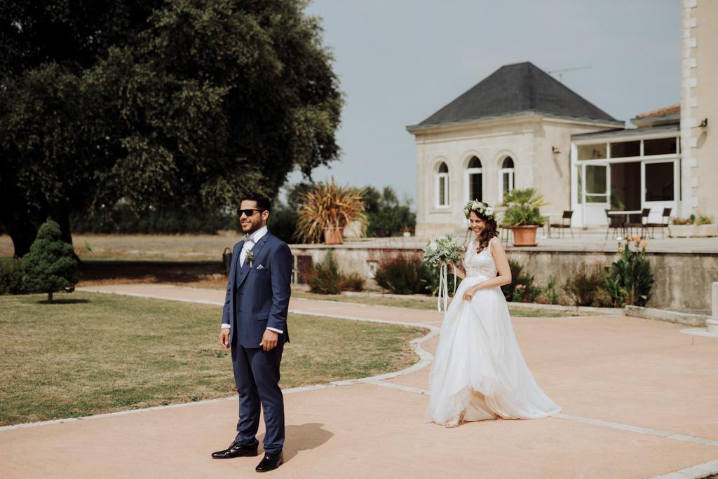 first look découverte marié mariée robe