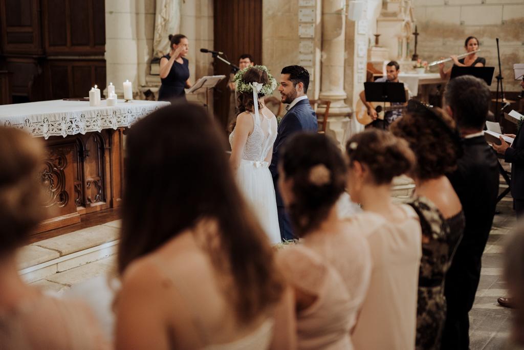 mariés céréminie religieuse