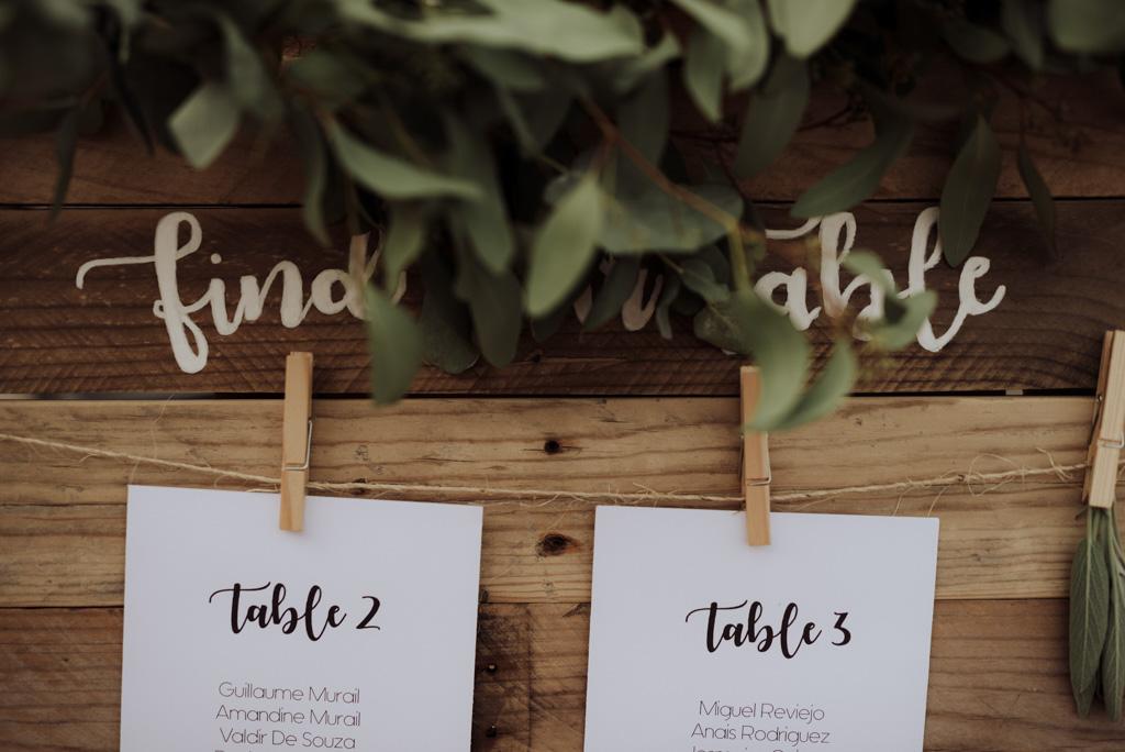 plan de table find your table pinces à linge