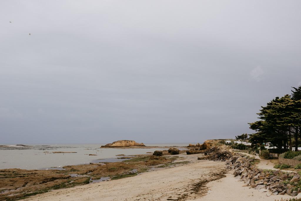 Pointe du Bile Pénestin Morbihan séance engagement nuages