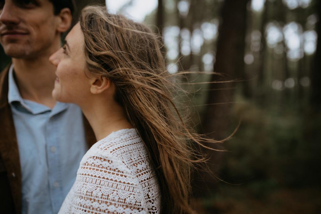 cheveux dans le vent engagement arbres Pont-Mahé Assérac
