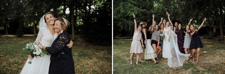 photos groupes mariage maman famille témoins