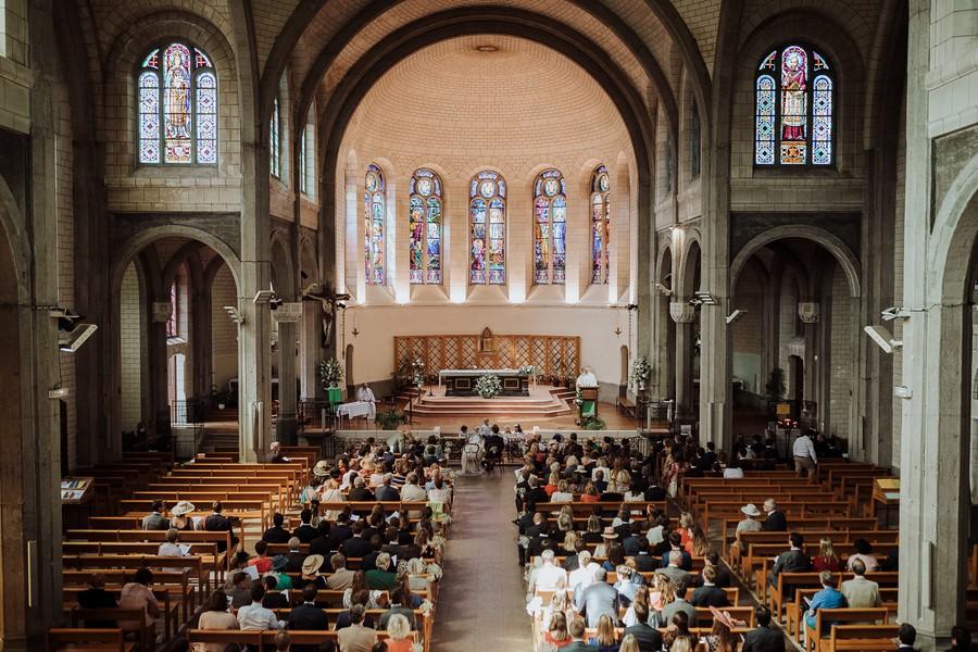 mariage église La Baule Escoublac