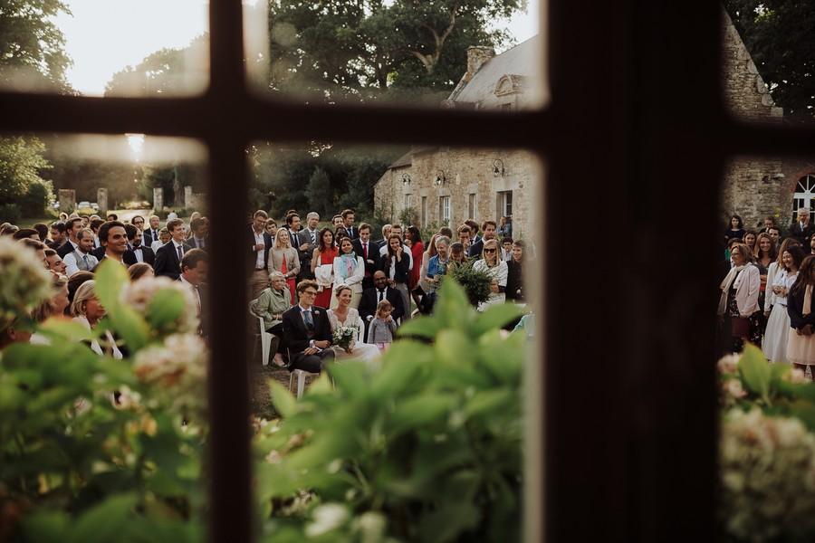 discours mariage jardin