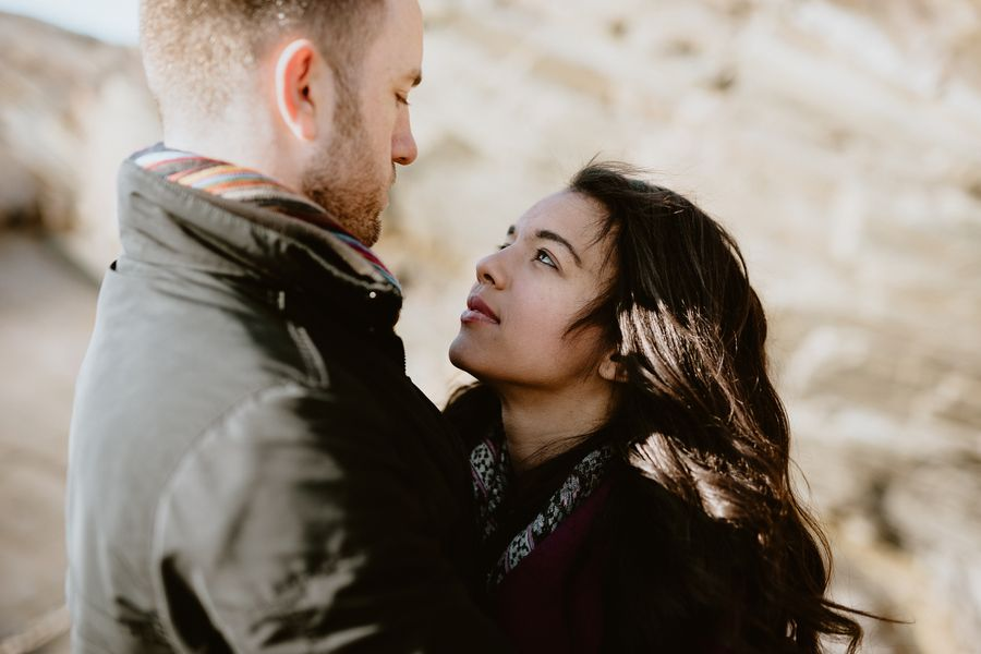 regard profond séance engagement amoureux