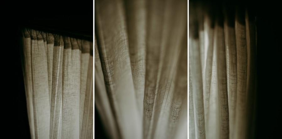 rideau lumière douce drapé plis défi coronavirus confinement covid-19