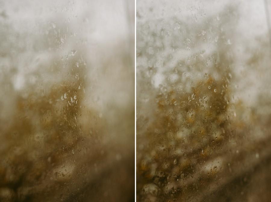 gouttes pluie verre reflet mur défi coronavirus confinement covid-19