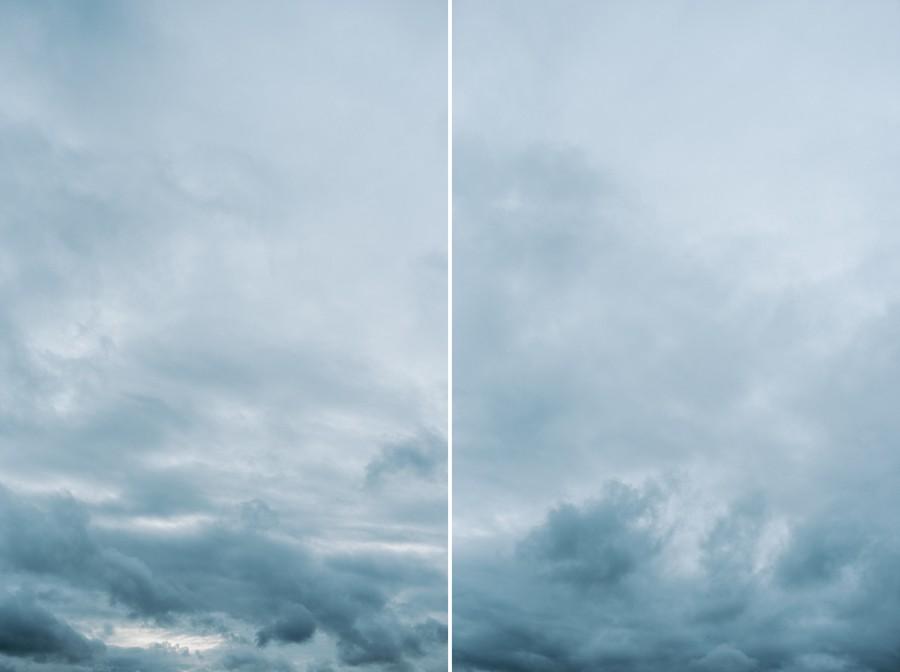 ciel nuages orage fin de journée