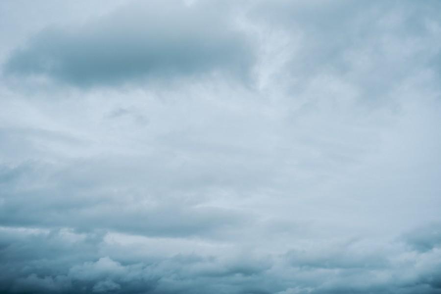 ciel nuages doux cotonneux