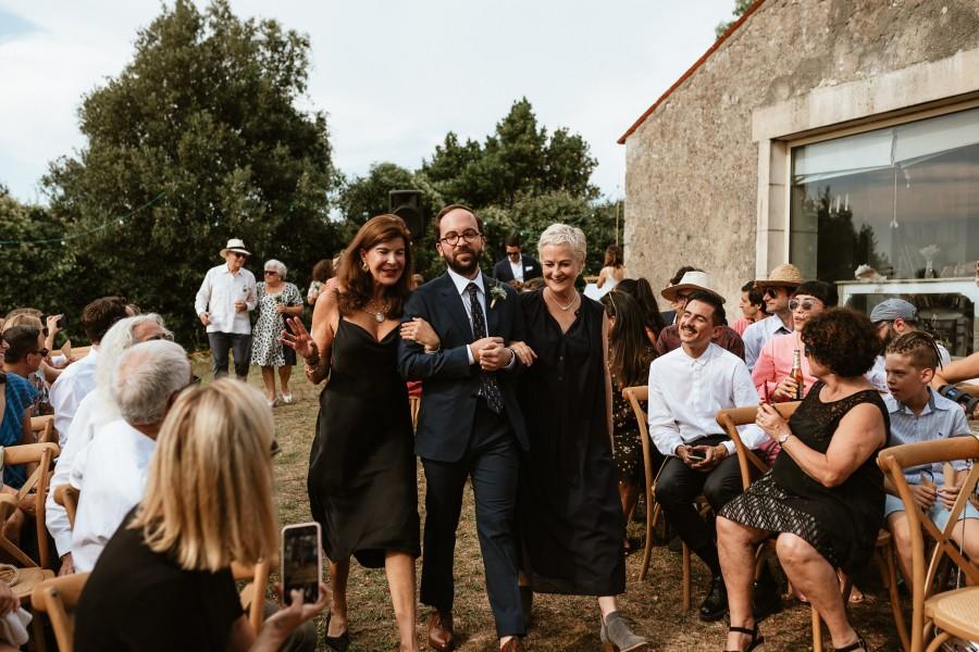 cérémonie laïque allée mariés