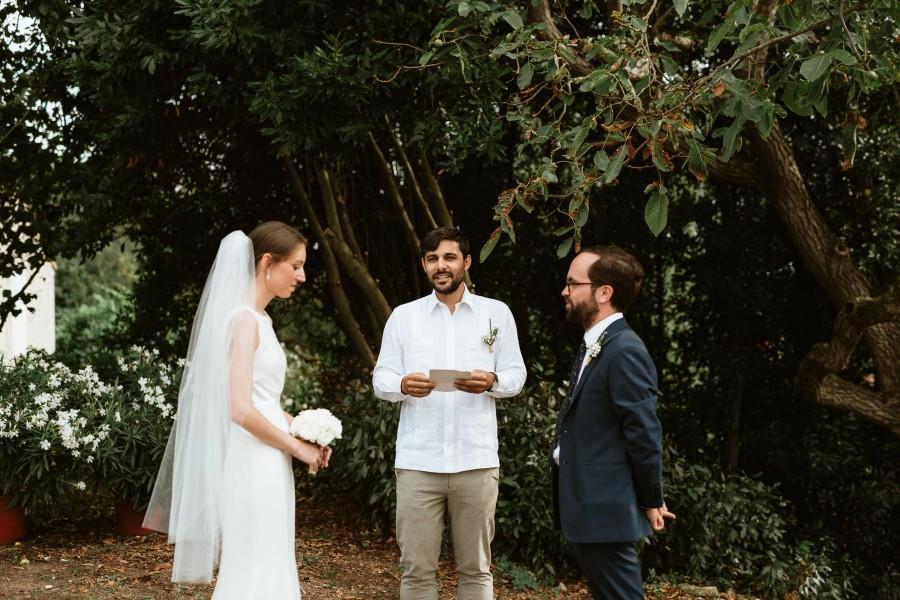 officiant cérémonie laïque arbres mariés