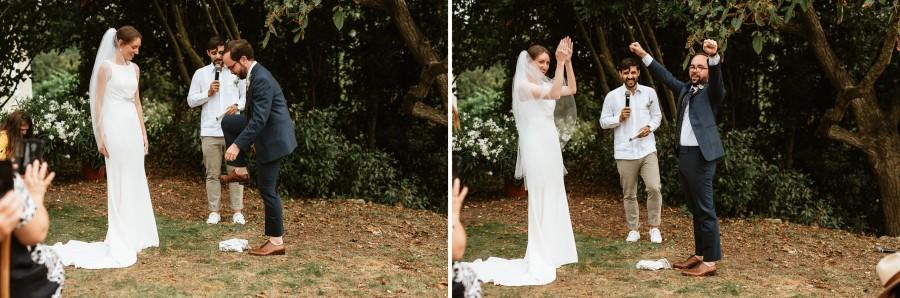 marié casse verre torchon mariage tradition juive