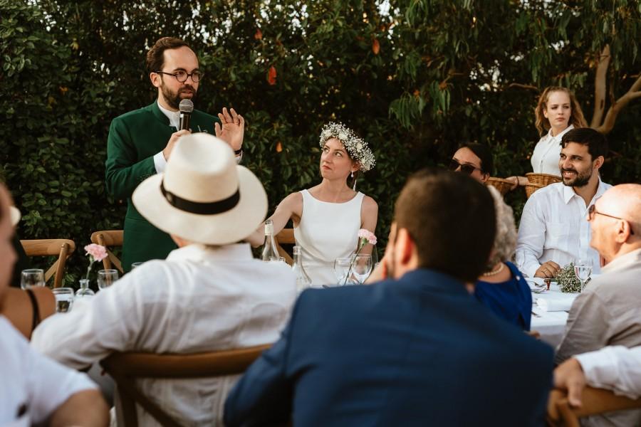 discours du marié réception